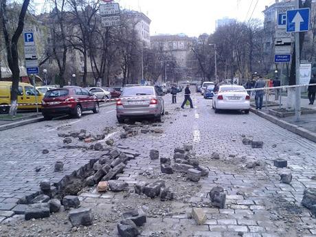 В центрі Києва