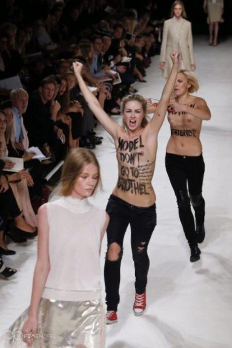 Українки з FEMEN здійснили
