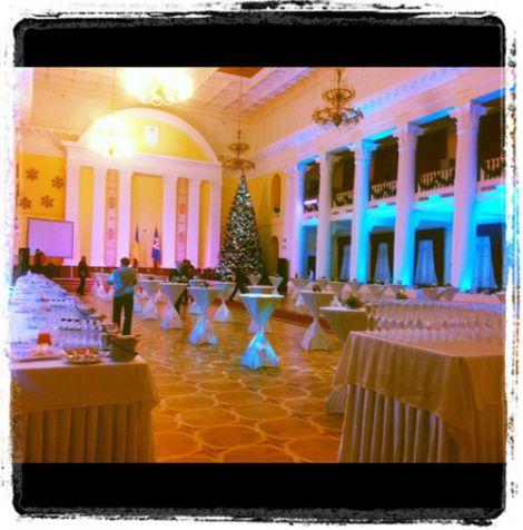 У Київський адміністрації влаштували новорічний корпоратив для буржуїв. ФОТО