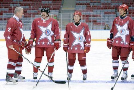 Путін з Лукашенком розгромили знаних хокеїстів (ФОТО)