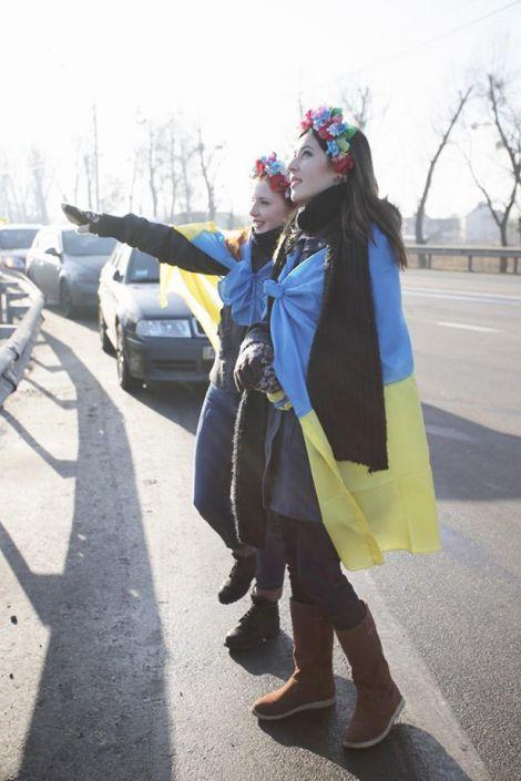 Як Євромайдан їздив до Януковича (ФОТО, ВІДЕО)