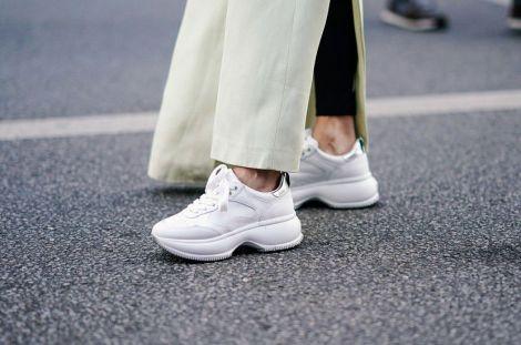 Біле взуття - найперспективніший тренд сьогодення