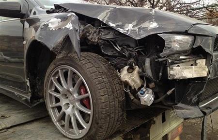 Син Шуфрича розбився на авто (ФОТО)