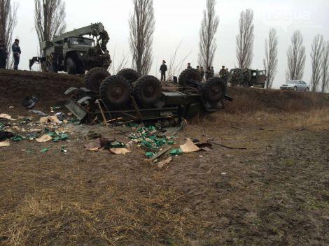 Десантники, які їхали з Дніпропетровська на Київ розбились в ДТП (ФОТО)