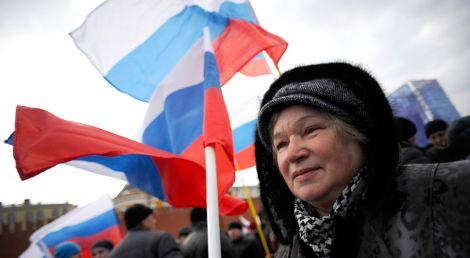 Більше 60% росіян назвали ситуацію в країні нормальною