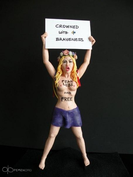 FEMEN зробили з воску (ФОТО)